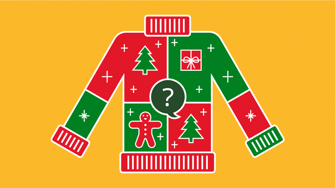 Trivia Christmas Sweater