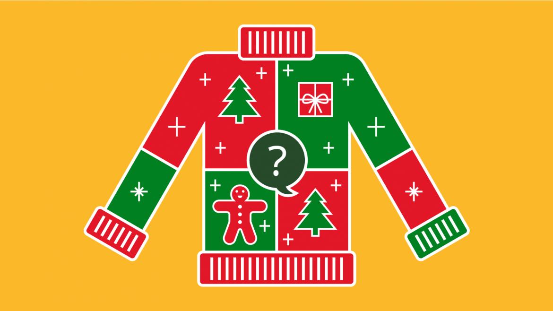 Trivia Christmas Sweater
